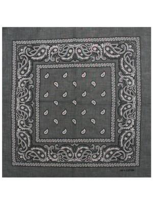 Paisley Bandanas - Dark Grey