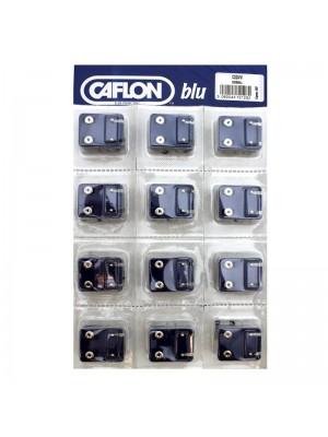 Caflon Blu Mini White Stainless Ball Studs