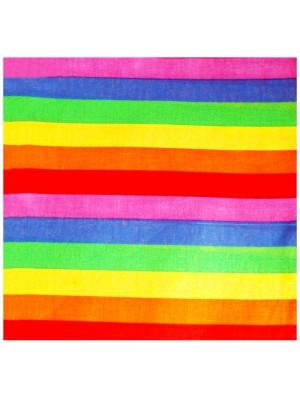 Striped Rainbow Bandana