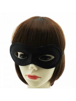 Plain Black Eye Mask
