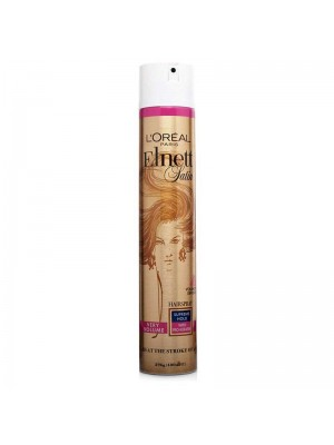 L'Oreal Paris Elnett Satin Very Volume Extra Strength Hairspray - 400ml
