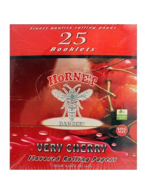 Wholesale Hornet Flavoured King Size Rolling Papers - Very Cherry