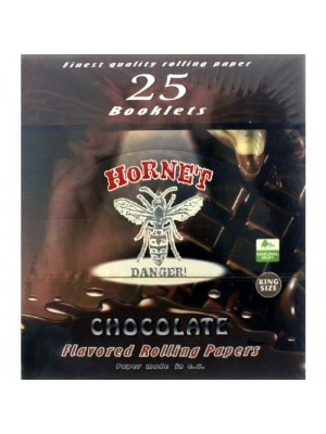 Hornet Flavoured King Size Rolling Papers - Chocolate