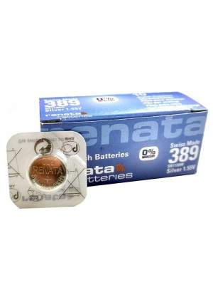 Wholesae Renata Watch Batteries - 389  (1.55V)