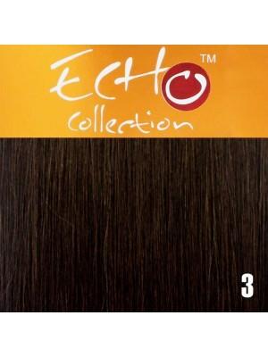 """Echo Human Hair Extensions - European Weave - Colour: 3 - 16"""""""