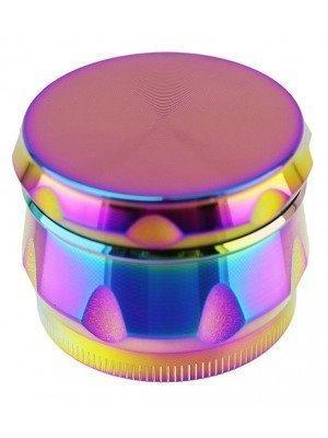 4-Part Metal Grinder Multi-Coloured - Rainbow