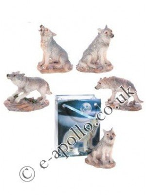 Wolf Figurine In A Bag - Assorted