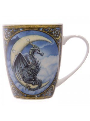 Lisa Parker China Mug - Dragon Print