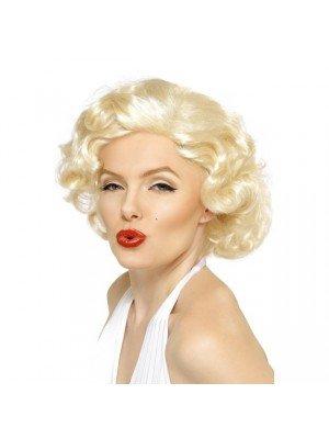 Marilyn Monroe Short Bombshell Wig - Blonde