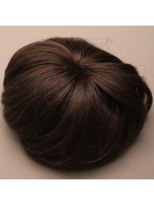 Imitation Brown Hair Bun (Assorted Shades)