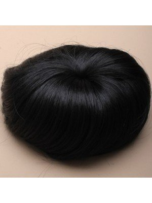 Imitation Black Hair Bun