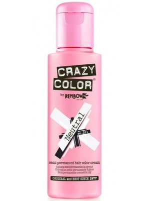 Crazy Color Semi-Permanent Hair Color - Neutral