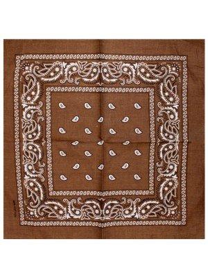 Paisley Bandana - Chocolate
