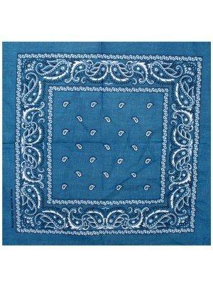 Paisley Bandanas - Denim Blue