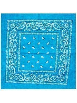 Paisley Bandanas - Turquoise