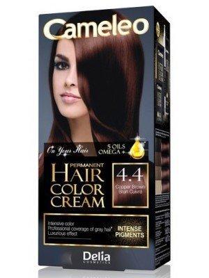 Wholesale Delia Cameleo Permanent Hair Colour Cream - 4.4 Copper Brown