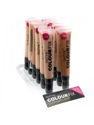 Technic Colour Fix Full Coverage Concealer Tray Assorted Shades