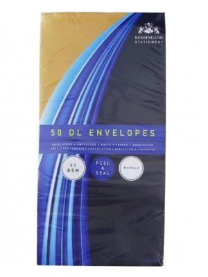 Wholesale Manila Peel & Seal Envelopes DL