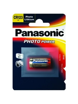 Panasonic Lithium Power Battery - CR123