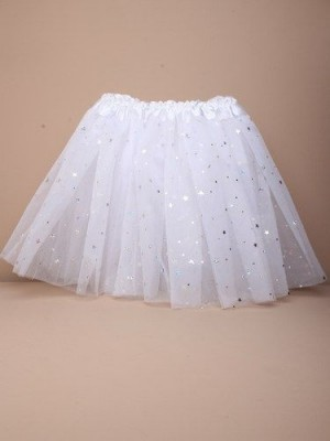 Children's White Net Tutu