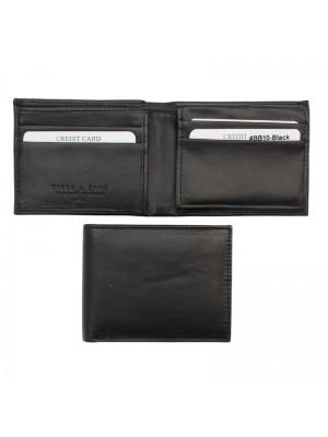 Wholesale Biggs & Bane Men's Leather Wallet - Black