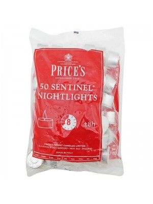 Price's Candles - Sentinel Nightlights Wholesale