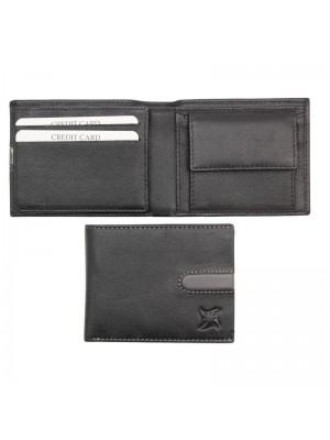 Wholesale Men's Leather Wallet - Black