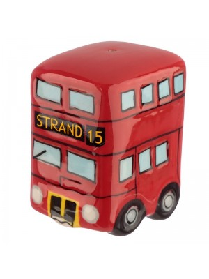 Ceramic Routemaster Bus Salt and Pepper Cruet Set