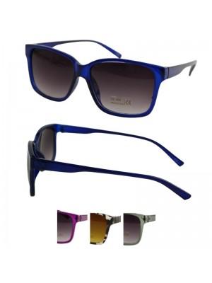 Wholesale Unisex Classic Plastic Sunglasses In PBHC - Assorted Colours