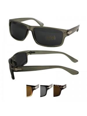 Wholesale Men's Sport Style Plastic Sunglasses In PBHC- Assorted Colours