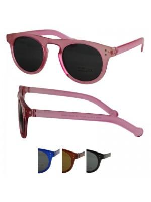 Wholesale Unisex Round Style Sunglasses - Assorted Colours