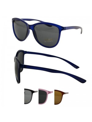 Wholesale Unisex Oval Style Sunglasses - Assorted Colours