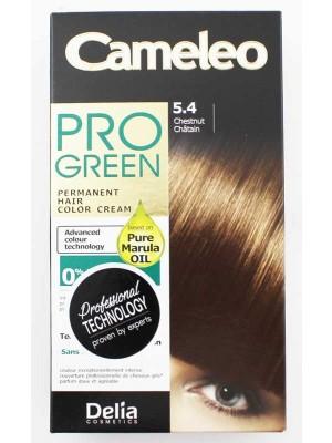 Wholesale Delia Cosmetics Cameleo Pro Green Permanent Hair Colour Cream-5.4(Chestnut Chatain)