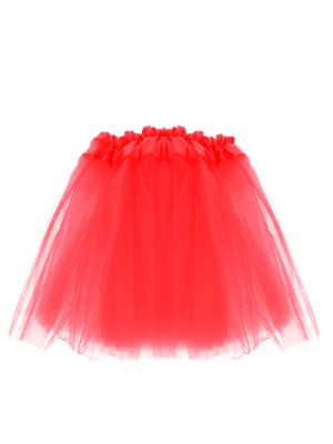 Children's  Red Tutu Skirt