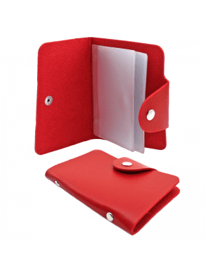 PU ID Card Holder - Assorted Colours