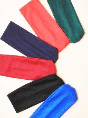 Molly & Rose Fabric Headband - School Colours (20 x 7cm)