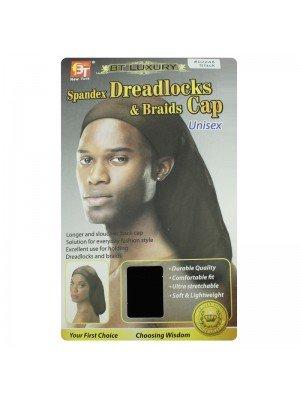 Spandex Dreadloacks & Braids Cap(Black) - Unisex