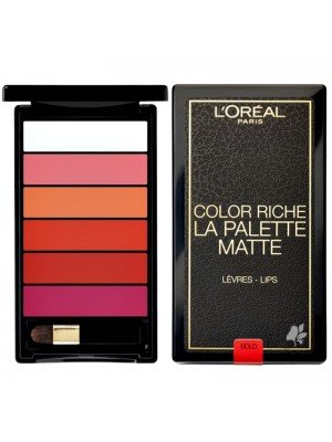 L'Oreal Paris Lips Color Riche La Palette - Assorted Colours