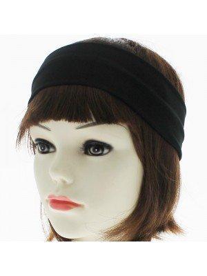 6.5cm Elastic Kylie Headband (Black)