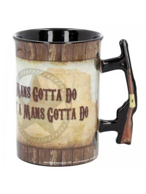 John Wayne Mug 'A Mans Gotta Do'