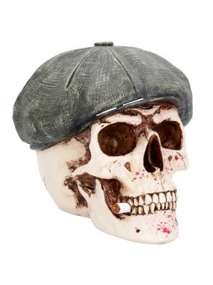 Wholesale Boss Skull Figurine - 18.5cm