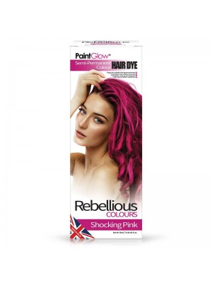Paint Glow Hair Dye - Shocking Pink
