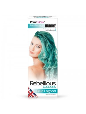 Paint Glow Hair Dye - Blue Lagoon