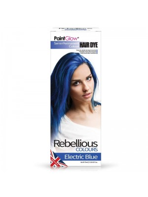 Paint Glow Hair Dye - Electric Blue