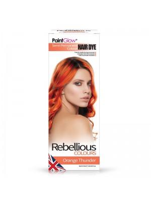 Paint Glow Hair Dye - Orange Thunder