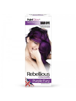 Paint Glow Hair Dye - Purple Fury