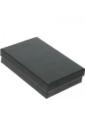 Plain Gift Box Black (11.5 x 7.5 x 2.7cm)