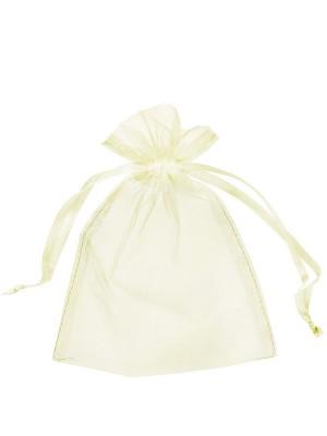 Organza Gift Bags Ivory (15 x 22 cm)