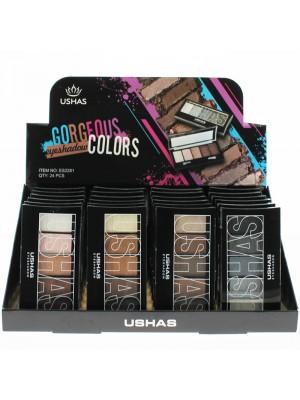 Ushas Gorgeous Eyeshadow Palettes