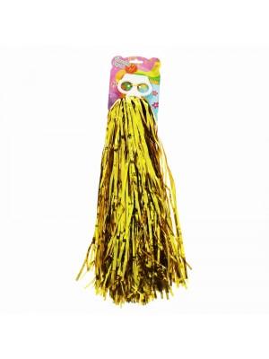 Cheering Squad Pom Poms - Gold